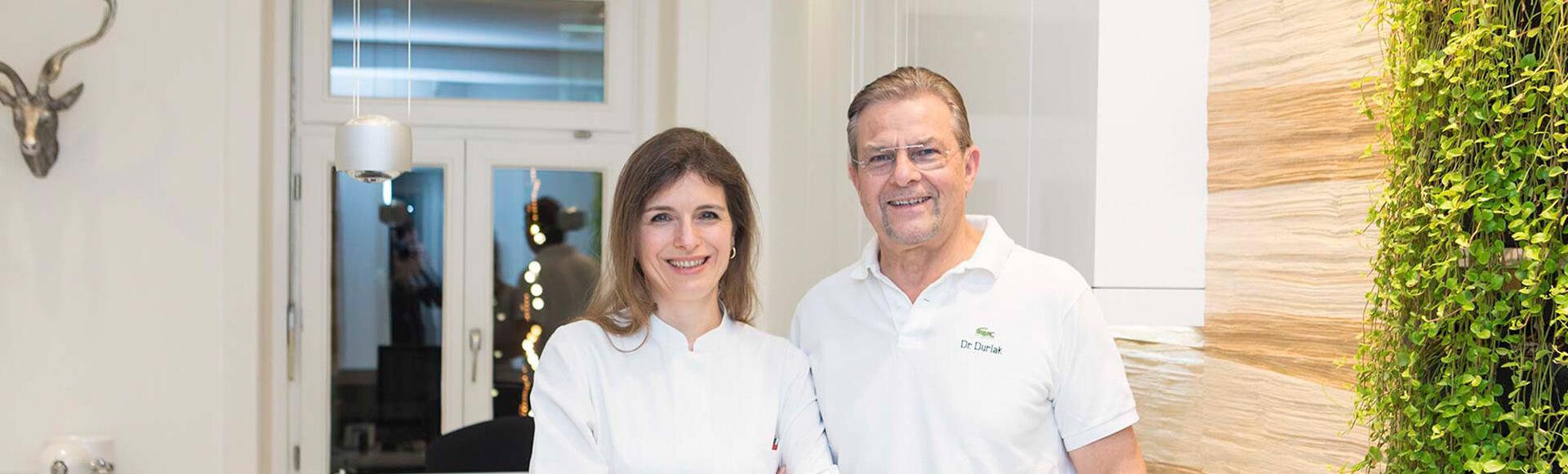 Dr. Luzie Braun-Durlak und Ihr Dr. Claus Durlak - Ihre Kieferorthopäden in Hamburg